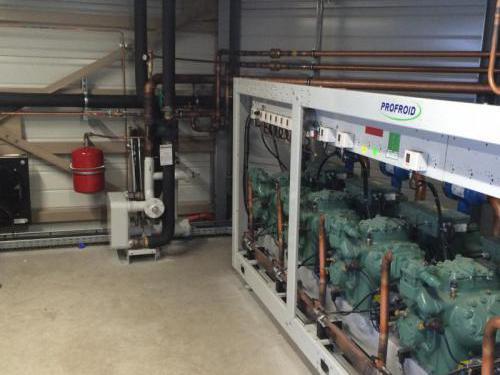 Centrale frigorifique pour les GMS